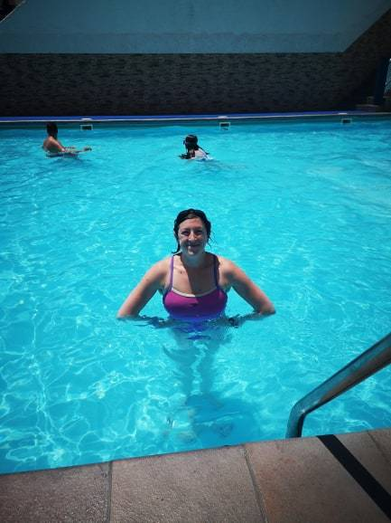Maria In The Pool