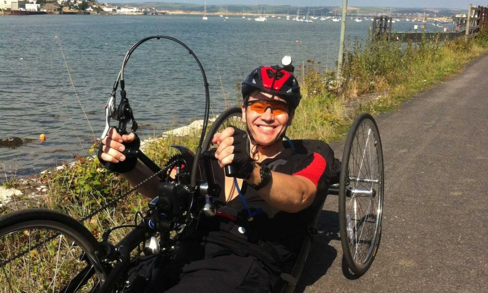 Blog 07 Simon Mackie On His Lightweight Hand Bike